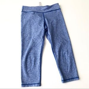 IVIVVA Heather Blue Cropped Leggings A4